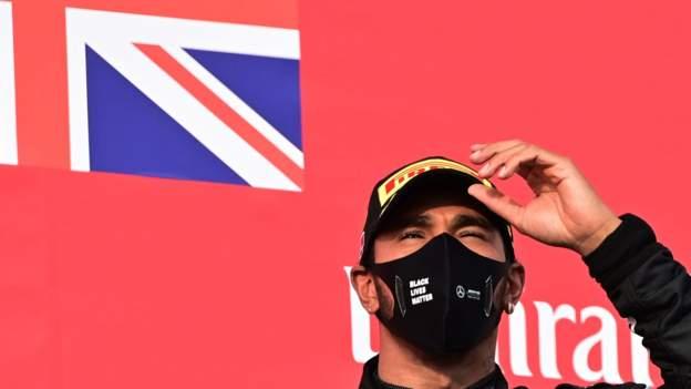 Lewis Hamilton wins the Emilia Romagna GP as Mercedes takes the constructors' title