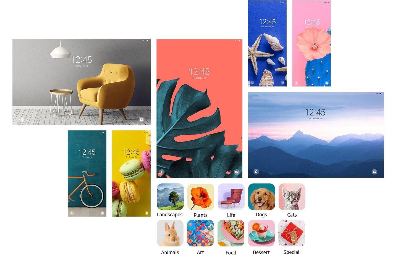 Samsung One UI 3.0 dynamic lock screen