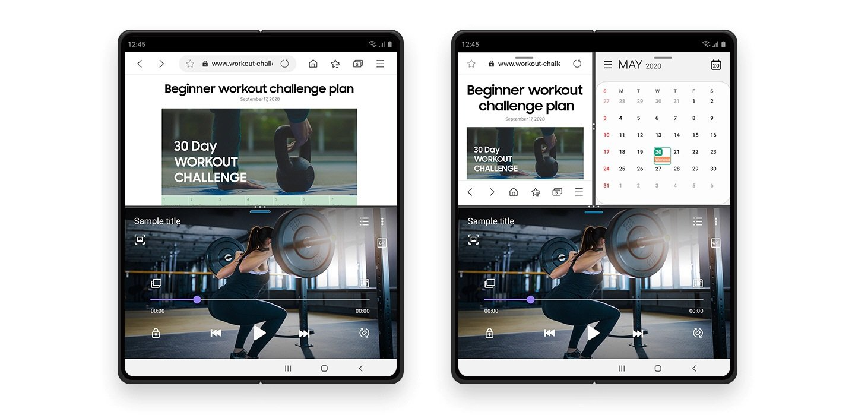 Samsung One UI 3.0 Multi Active window