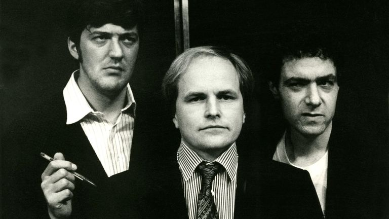 John Sessions, Clive Anderson, Stephen Fry