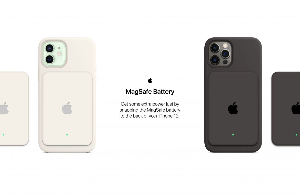 The concept: How Apple can use MagSafe to add extra battery life to an iPhone 12