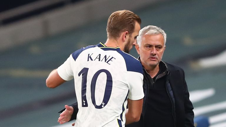 Jose Mourinho told Gareth Southgate that he would not play Harry Kane in the Tottenham friendly matches