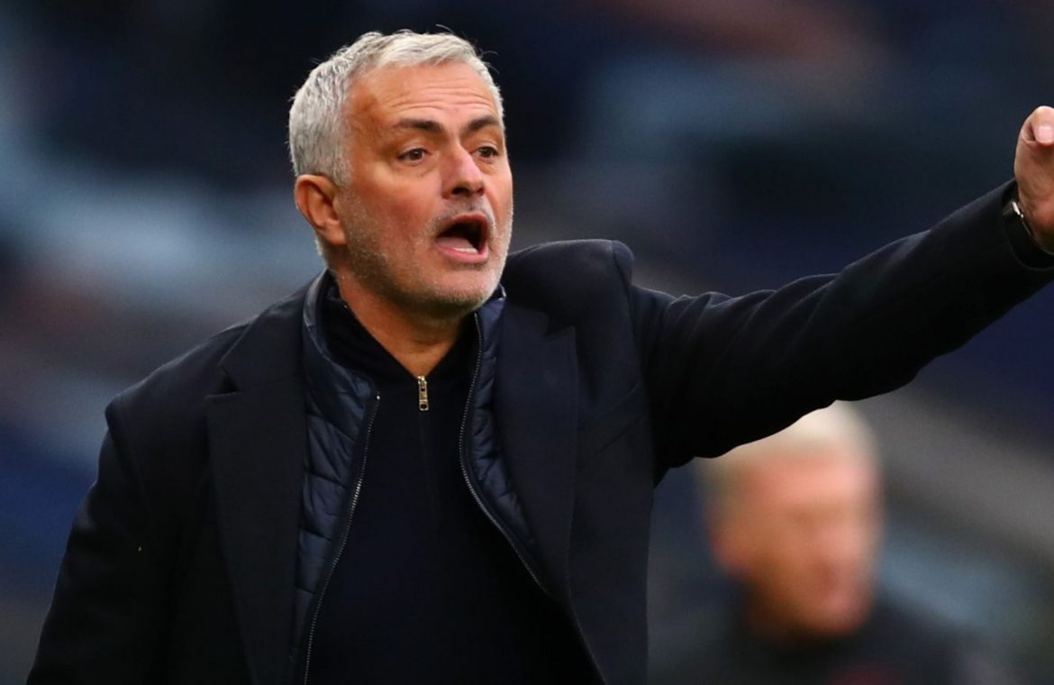 Jose Mourinho's Tottenham could end up top of the Premier League this weekend if results go their way