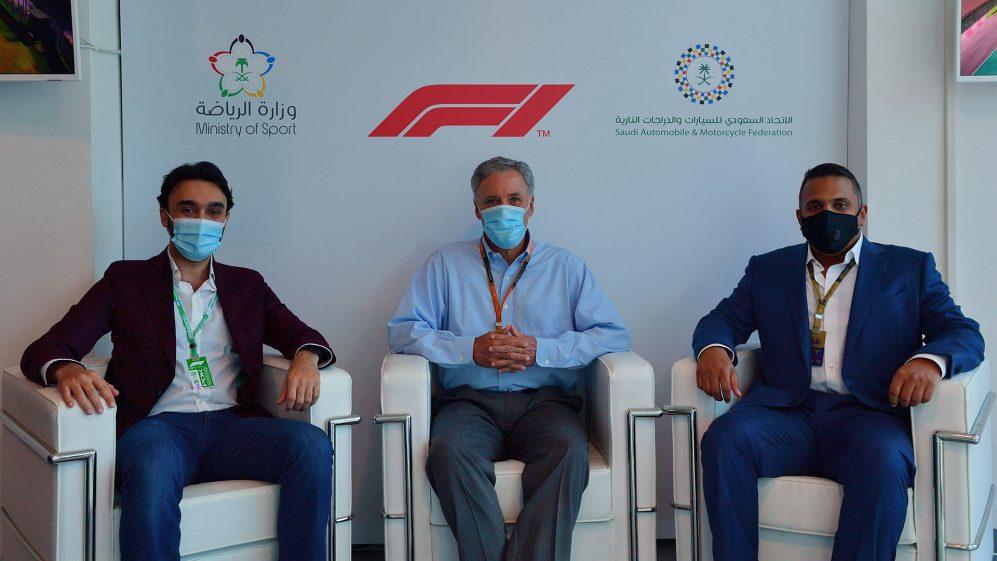 The Kingdom of Saudi Arabia will host the Formula 1 race in 2021, Prince Abdulaziz Al Saud, Chase Curry + Prince Khaled Al-Faisal - Imola.