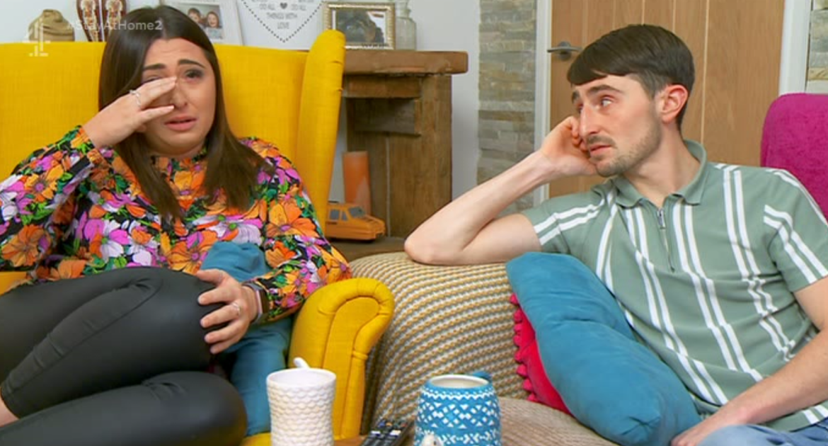 Sophie from Gogglebox cries viewers as she collapses over the horror of the new lockdown