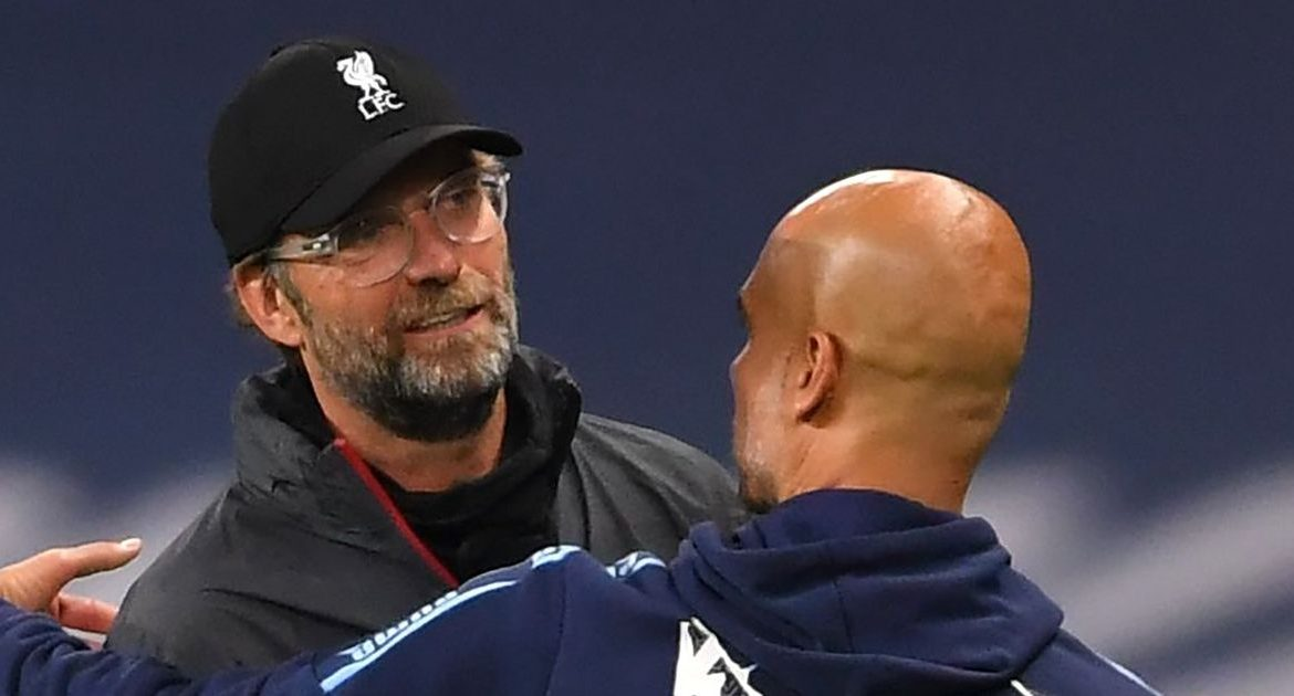 Jürgen Klopp admitted to losing Liverpool to Manchester City after winning the Premier League