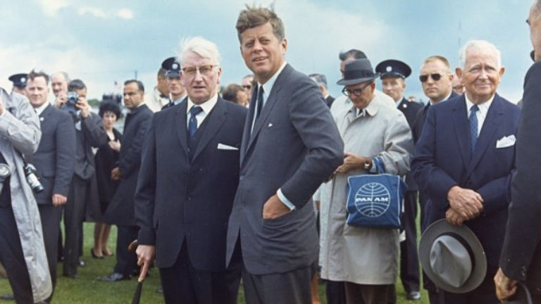 John F Kennedy's great-great-grandfather hails from Dunganstown, Co Wexford, and in 1963 became the first sitting American president to visit Ireland