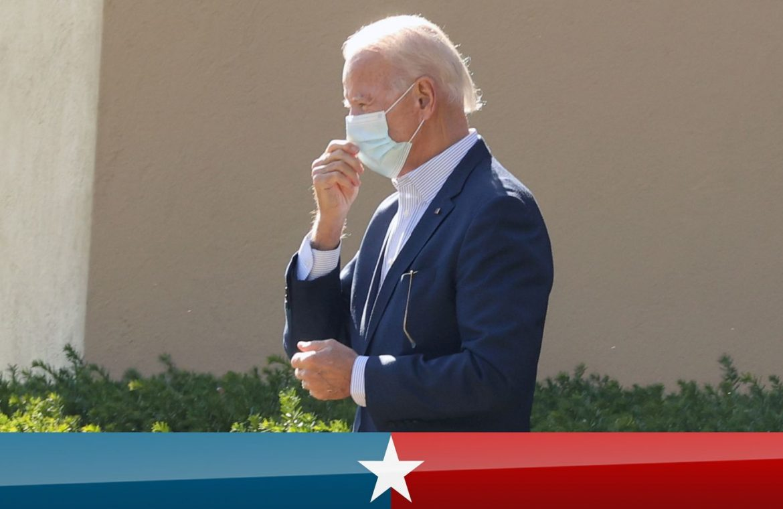 Joe Biden leaving church in Wilmington, Delaware