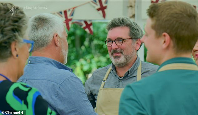 Emotionally: an amateur baker born in Leicester stole the hearts of the nation as a single father competed with his daughters