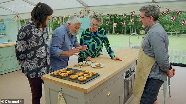 Oh no!  His little cakes didn't suit the judges, on every side