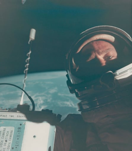 First self-portrait in space, November 11-15, 1966