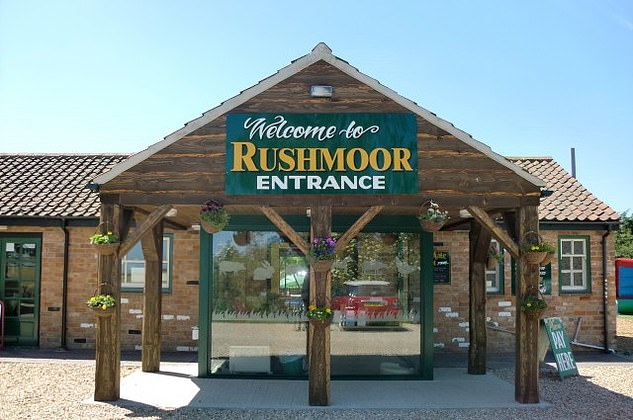 Cassey's mother, Jane runs the visitor site at Rushmoor Country Farm Park (pictured) in Louth, Lynx, with her two daughters Jade, 27 and Alicia, 22.