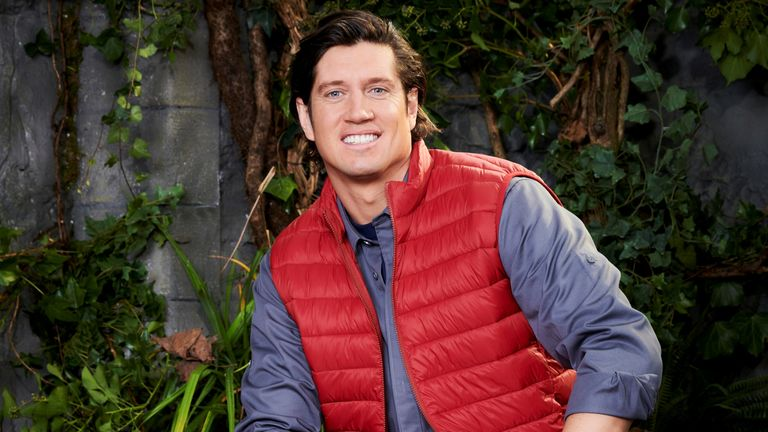 I'm a celebrity ... Get me out of here!  Vernon Kay.  Pic: ITV