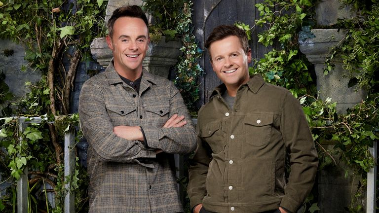 I'm a celebrity ... Get me out of here!  Ants and Dec pic: ITV
