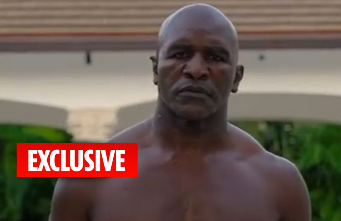 Evander Holyfield fears his rival, Mike Tyson, 54, will be knocked out after a Roy Jones Jr. match and will never give him a three-way fight.