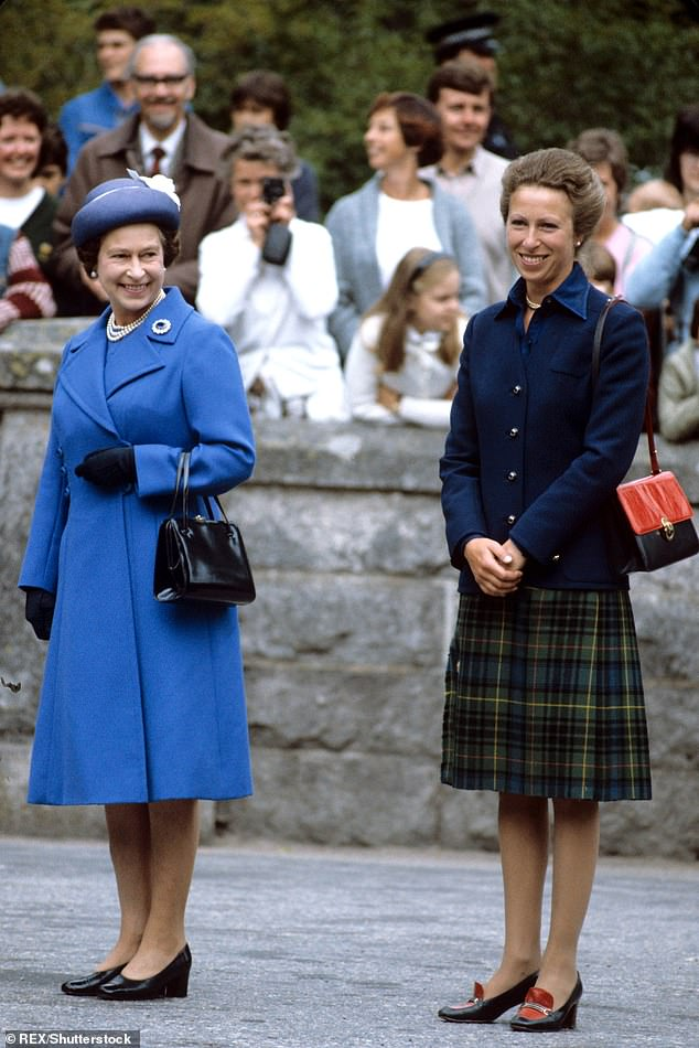 Season 4 of The Crown, hitting screens tomorrow, is critical in its portrayal of the Queen's fatherhood to her daughter (pictured together in August 1983)