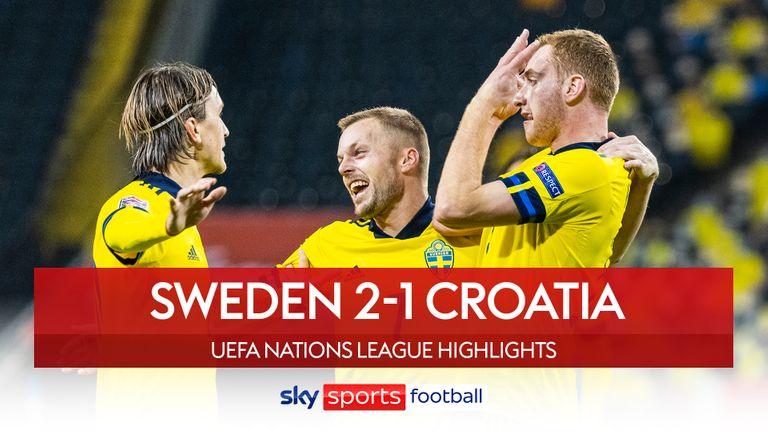 Sweden 2-1 Croatia