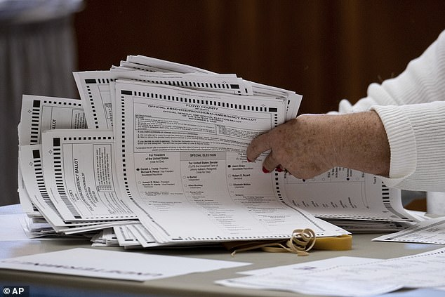 Georgia began recounting nearly 5 million ballot papers by hand on Friday after President Donald Trump and the Republican Party requested a statewide audit.