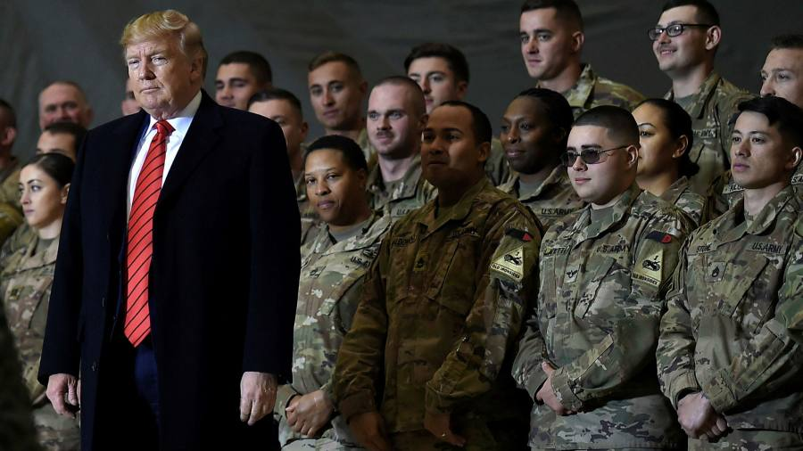Donald Trump orders withdrawal of troops after the overthrow of the Pentagon chief