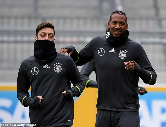 Both Ozil and Jerome Boateng saw the end of their international careers under a cloud