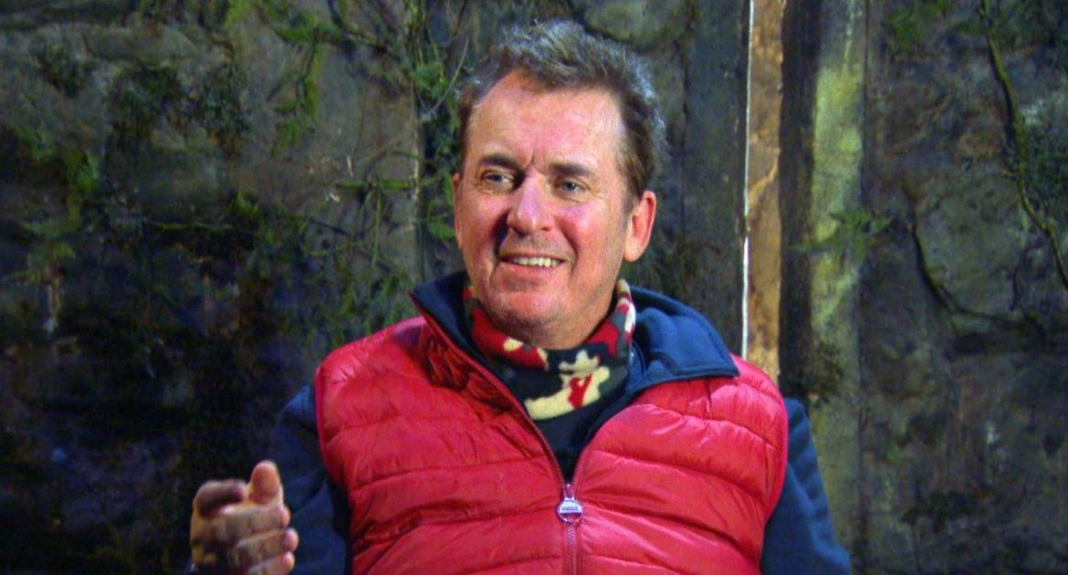 Fans of I'm A Celebrity accuse stars of dropping names like Shane Richie and Vernon Kay Brag