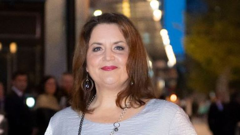 Gavin and Stacey's Ruth Jones defended her character singing the song in last year's Christmas episode Pic: Matthew Horwood / Getty Images