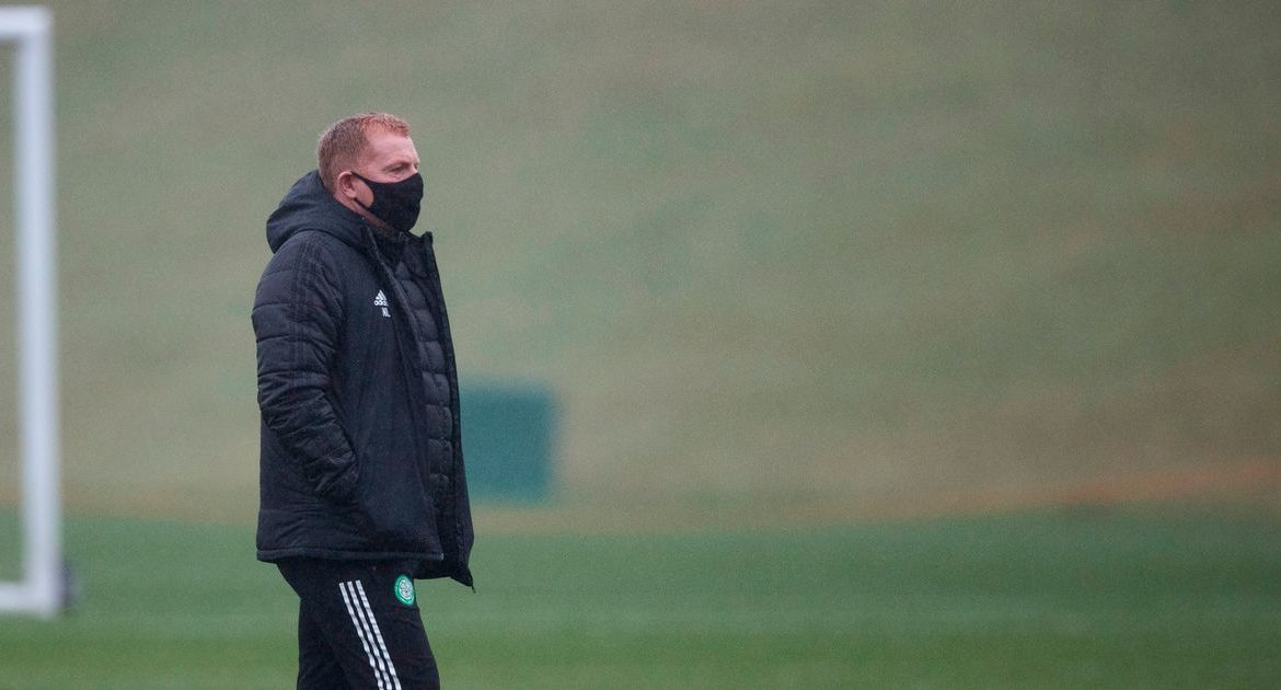 """Neil Lennon insists that Rangers husband's Covid ban is a """"warning"""" from Celtic as he claims he is throwing away Odsonne Edouard"""