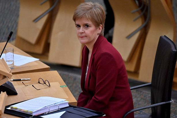 Prime Minister Nicola Sturgeon held talks with the UK government