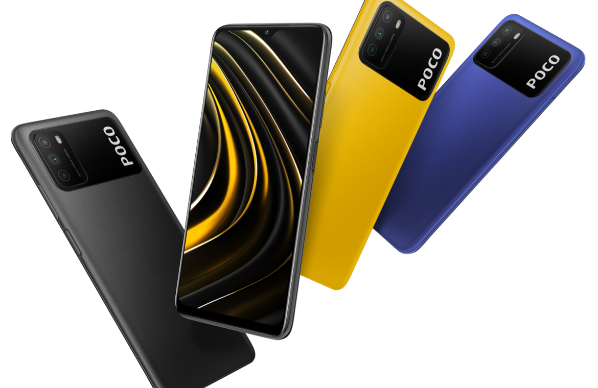 The Poco M3 is official with a massive battery and 48MP camera for nothing
