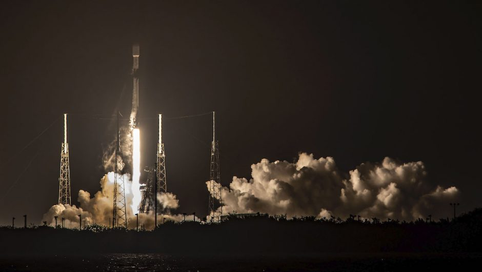 SpaceX launched another 60 Starlink satellites on Falcon 9 Flight 100 - Spaceflight Now