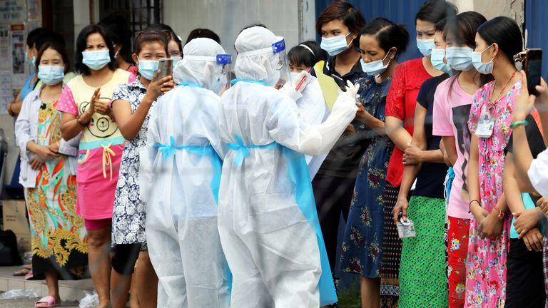 Glove giants in Klang wait for a coronavirus test