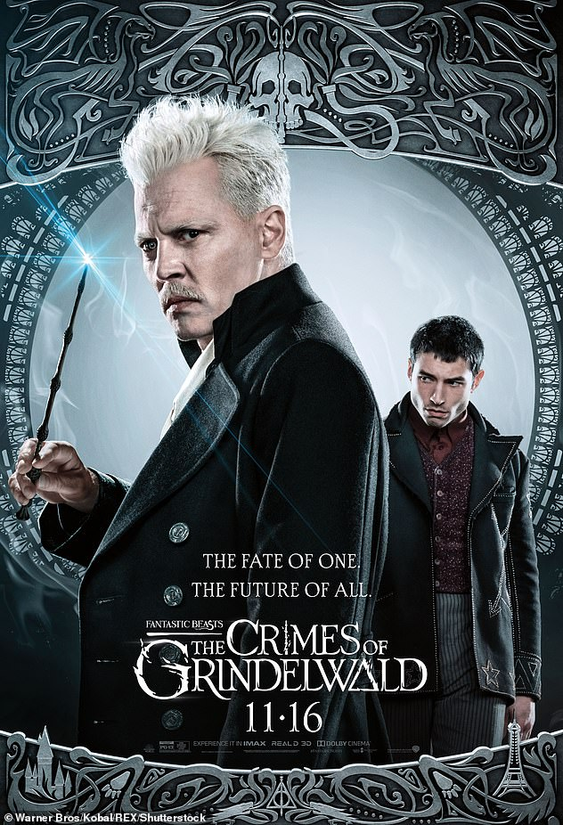 Reenactment: The studio released a brief statement shortly thereafter, indicating that the role of Gellert Grindelwald would be re-cast.