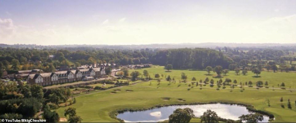 So much to look forward to: There's a huge golf course, and a £ 12million spa facility, and guests can enjoy theme evenings, like a Bollinger tasting event.
