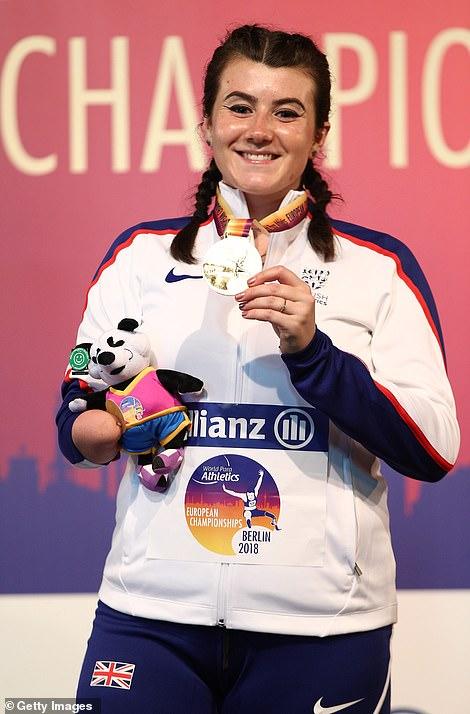 Winner: Filmed at the 2018 Berlin Paralympic Athletics Championships