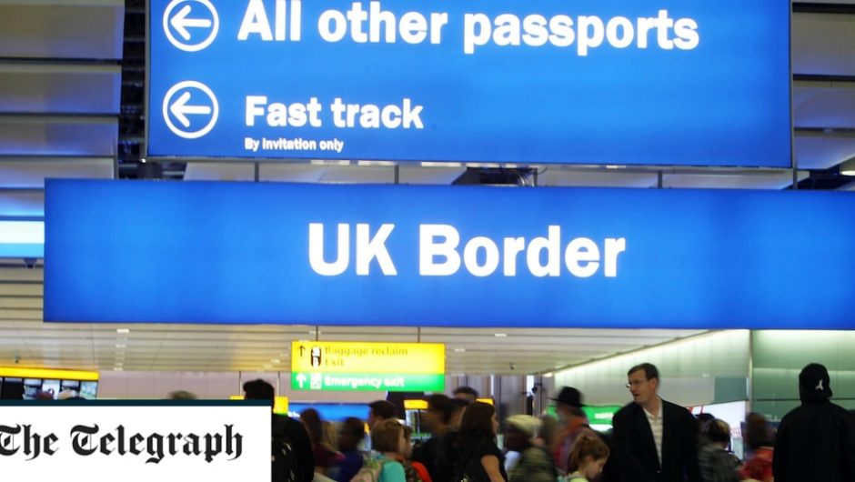 "Britons are required to have ""vaccine stamps"" in their passports before traveling abroad"