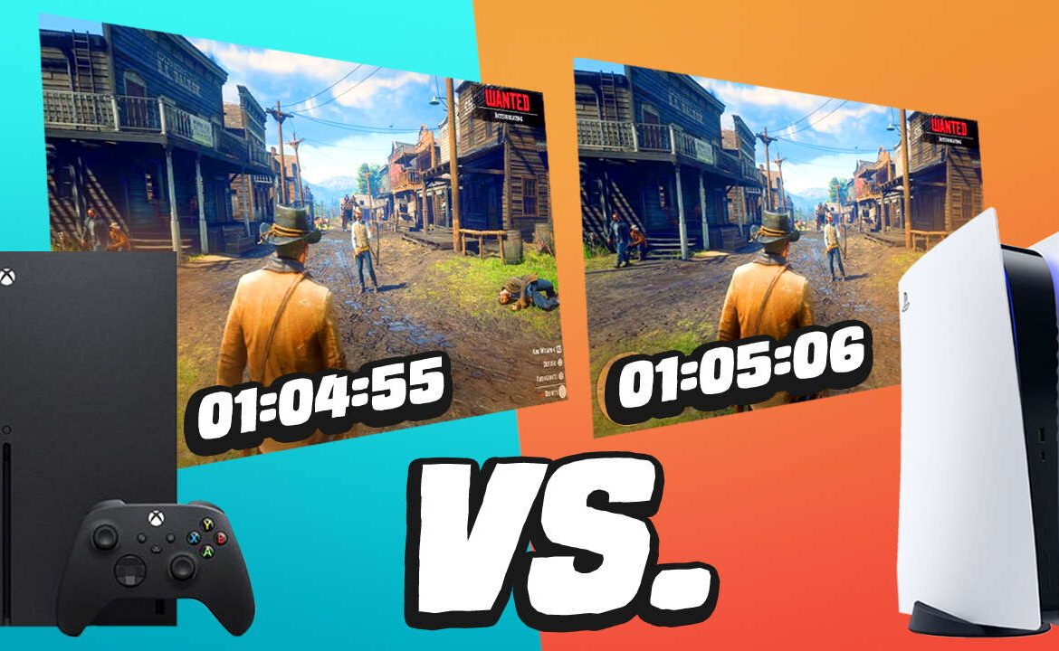 Comparison of PlayStation 5 and Xbox Series X Load Times