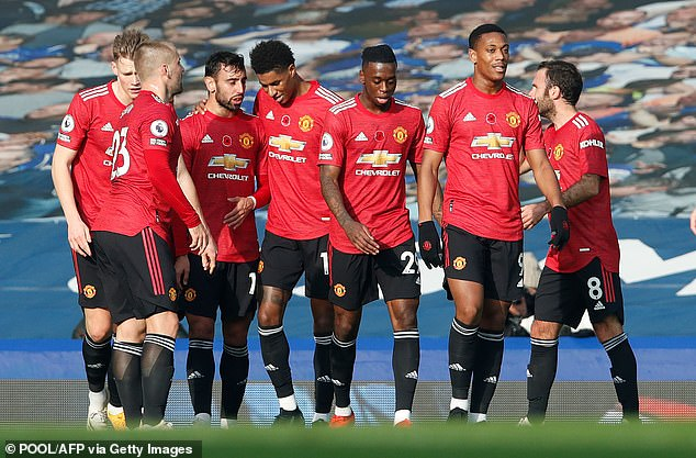 Manchester United put on a superb performance beating Everton at Goodison Park