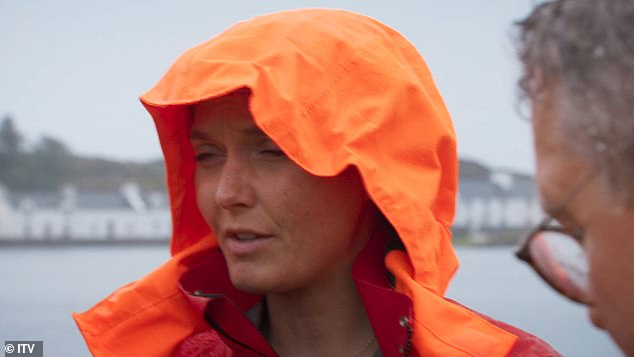 Emotionally: Victoria Pendleton faced more suffering in Don't Rock The Boat on Wednesday, as she clashed with actor Craig Charles after he accused her of being `` toxic. ''