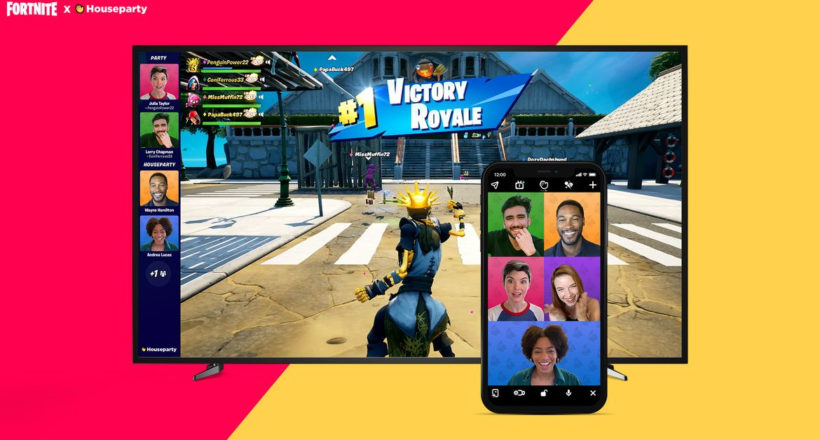 Fortnite and Houseparty partner for in-game video chat