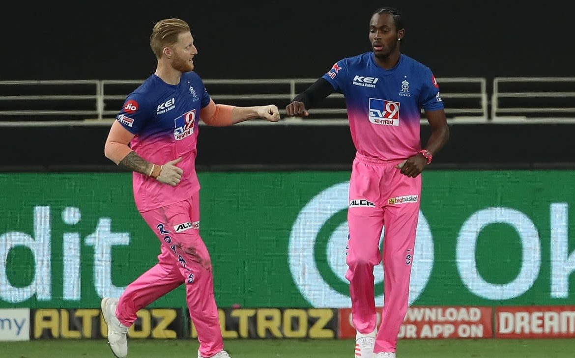 Goffra Archer, Ben Stokes and Sam Curran of the England ODI team rested in South Africa
