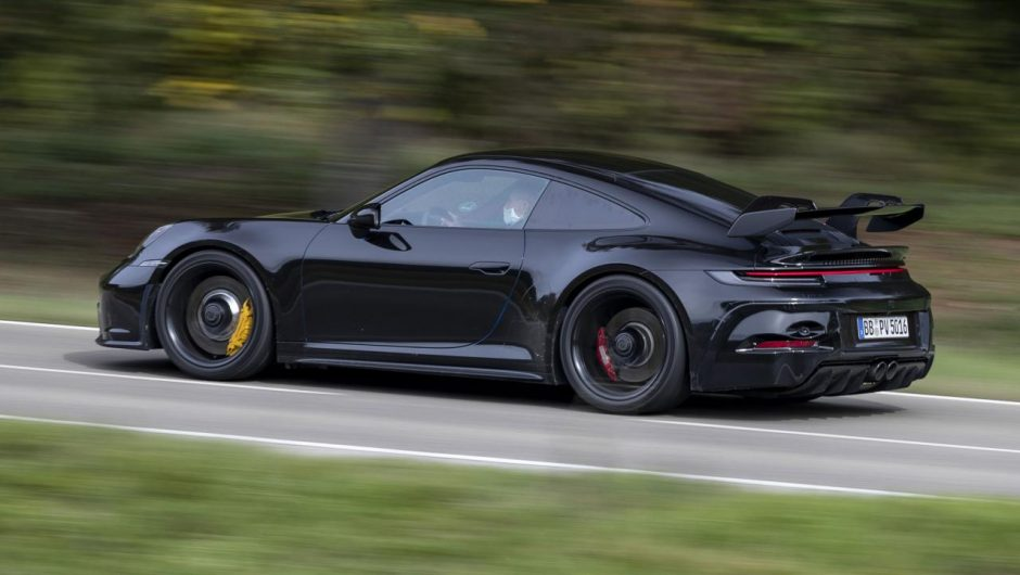Here's our first look at the new 992 generation Porsche 911 GT3