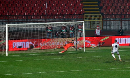 David Marshall saves decisively to deny Alexander Mitrovic a penalty.