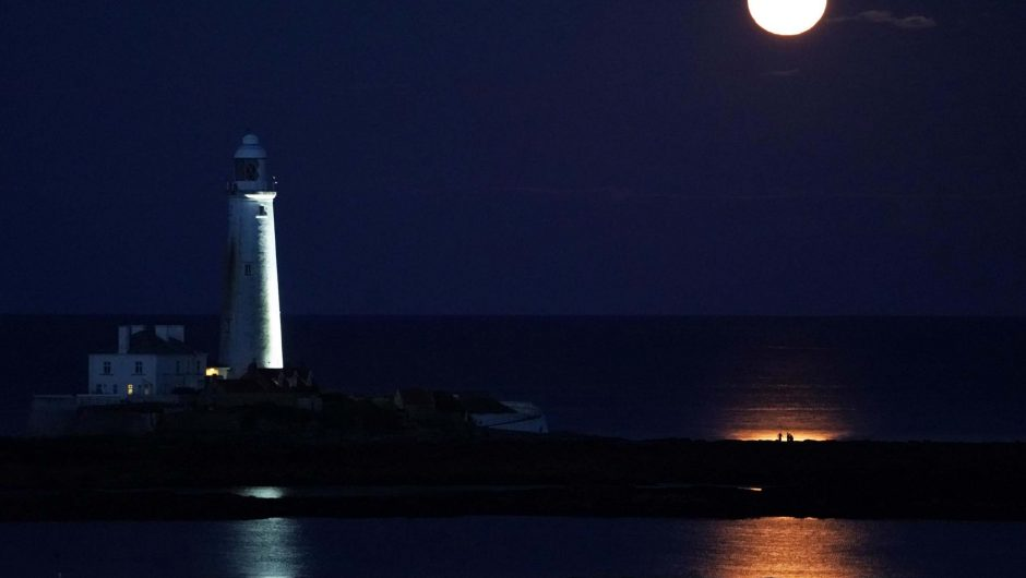 Rare blue moon to light up the Halloween night sky for the first time since 1944