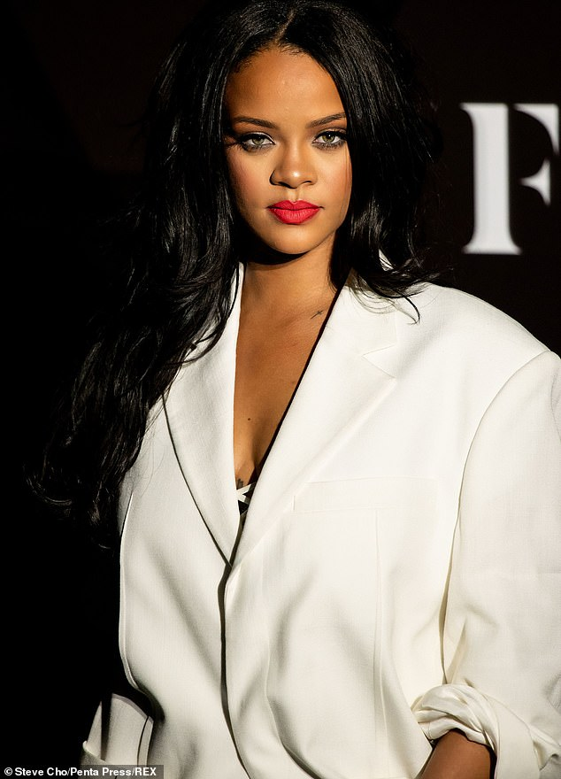 Sympathy: While Americans celebrated their beloved Thanksgiving holiday, Rihanna sends a message of sympathy to Native Americans