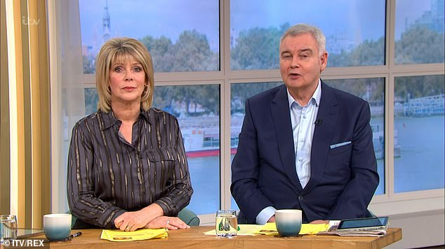 Response: Ruth Langsford took a quick swipe at the past of older brother Alison Hammond, whom she had left this morning when she announced that she and husband Eamon Holmes had not made a reality show and got a job overnight