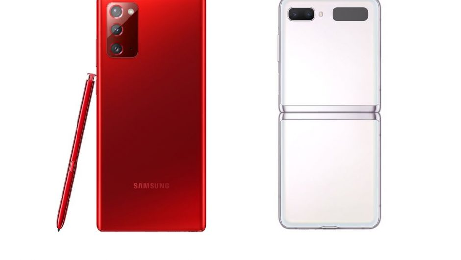 Samsung's Note 20 5G and Z Flip 5G are now available in festive red and white colors
