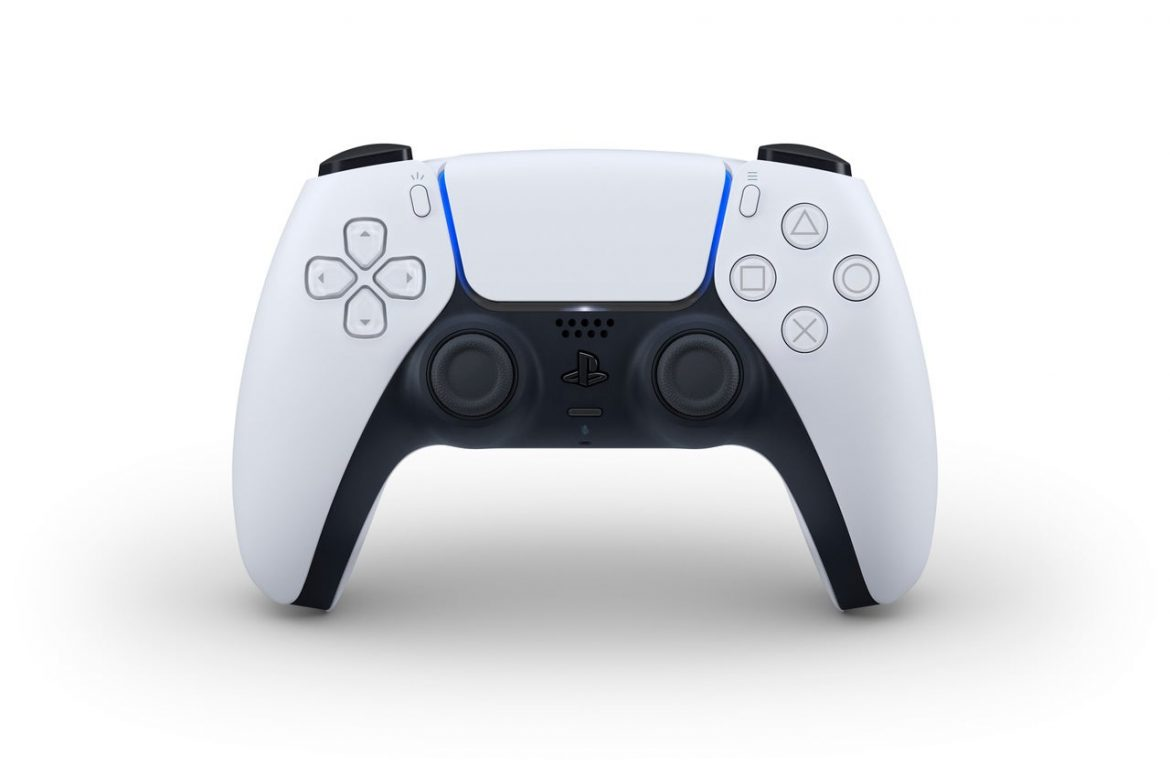 The PS5 DualSense controller apparently features a removable protection panel