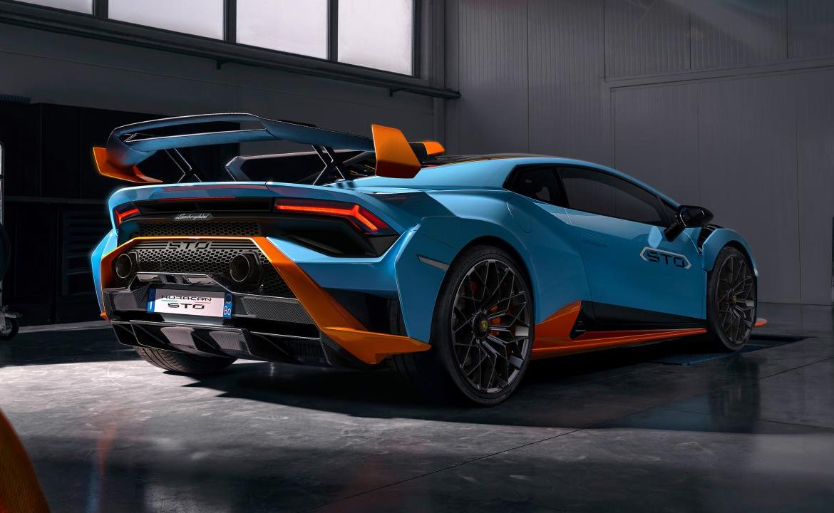 The STO rear-drive is the craziest Lamborghini Huracan yet