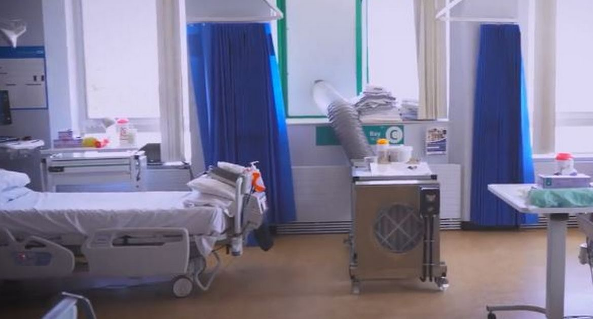 The number of beds that Covid-19 patients have eaten in Cornwall's hospitals