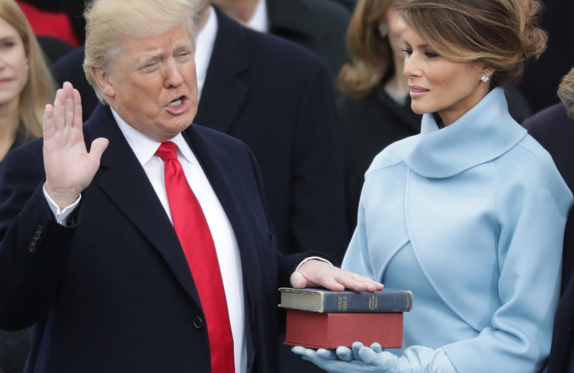 Trump 'is considering an event to announce his 2024 campaign on Biden's inauguration'